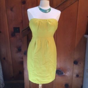 J. Crew Strapless Mini Dress With Pockets